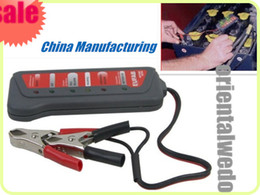 Wholesale T16897a V LED Digital Battery Alternator Tester with Led lights Display Indicates Condition top sale