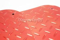 Wholesale Neverland Universal Car Aluminum Diamond Plate Floor Mats Foot Footwell Heel Pad