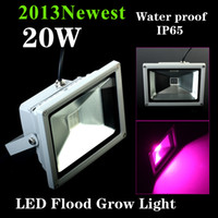 Wholesale 20W AC85 V IP65 WaterProof LED Plant Grow Tent Light Hydroponics System