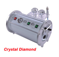 CE Diamond microdermabrasion machine skin peeling and scar removal FREE SHIPPING Crystal Diamond Microdermabrasion Machine 2 In 1 Skin Peeling Dermabrasion Facial Cleaning Machine