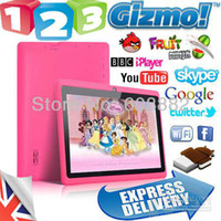 Wholesale A13 MID Cheap Tablet PC A13 Q88 inch Capacitive Screen Android Camera