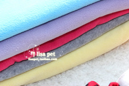 Wholesale CM Pet blanket pet pad dog mat rug fleece hot selling products