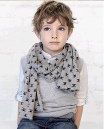 2013 New Child Baby baby Scarves Double Skull Scarves Shawl Printing Family Scarves 10pcs/lot