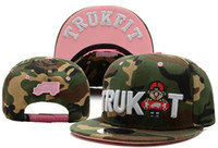 Wholesale Latest hot Truk adjustable snapback cap flat brimmed hats hat hip hop skateboard