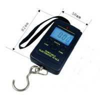 Digital scale less than 40Kg  DHL free shipping 40kg digital scale 40kg 10g Electronic Portable Digital Weight Fish Hook Luggage Weight Scale