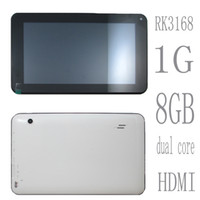 Wholesale 7 inch capacitive touch screen Google Android Rockchip RK3168 GHz GB DDR3 RAM and GB NAND FLASH ROM tablet pc mids shype