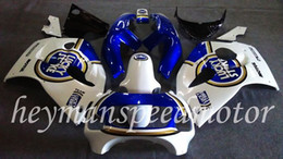 Wholesale Body Kit FIT For Suzuki white blue GSX R GSXR GSX R600 Aftermarket ABS Fairing