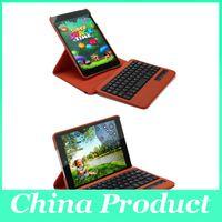 Wholesale Bluetooth Keyboard Wireless Keyboards for iPad mini iPad PU Leather Case degree Rotating PU Leather Cover Case Hot Sale