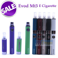 Electronic Cigarette MT3 Atomizer eVod BCC MT3 Clearomizer Vaporizer Ego 650mAh 900mAh 1100mAh eVod Mt3 Battery Rechargeable e cig battery