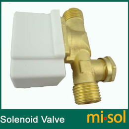 Wholesale Electric Solenoid Valve for Water VDC quot electric magnetic valve