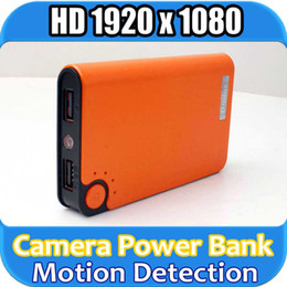 Wholesale 3 color P H Real Power Bank espia Spy Camera Hidden kamera Camcorder Motion Detection DVR for news reportor