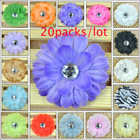 Headbands Lace Animal 320Pcs Hair Accessory Wholesale Baby GIRL Lady Little Crystal Daisy Flower Hair Clip Bow 16 Color 3967#