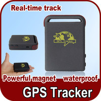 Wholesale Quad Band GSM GPRS GPS Tracker TK102 tracking Full Accessories Mini Car Vehicle Tracker Mini Global Real Time Tracking Device