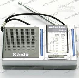LLFA2284 Livraison gratuite Mini Portable AM FM Radio Pocket 2 bandes récepteur DC 3V