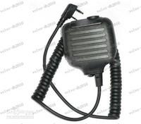 Wholesale LLFA2285 X Handheld PTT Speaker Mic FOR KENWOOD Radio PIN For Ham Radio accessories