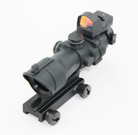 Rifle Scope acog doctor sight - ACOG TA31 x32 Tactical Rifle Hunting Scope With Doctor Auto sight Black