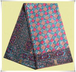 Wholesale Multicolor dutch wax print fabric african Hollandias cotton wax in stock