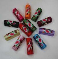 Wholesale BROCADE Silk Lipstick Cases
