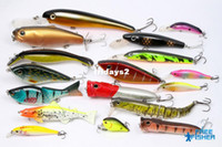 Soft Baits Hard lure on sale On Sale 17 pcs high quality fishing hard lures baits Live trout etc. OS-E2