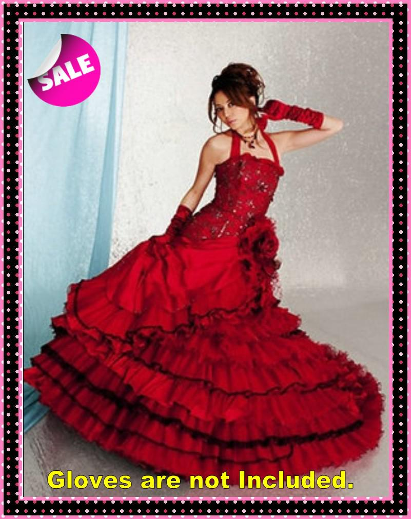 2013 black and red vintage ball gown gothic wedding for Red and black wedding dresses for sale