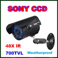 Wholesale SONY Effio TVL Vandal Dome Outdoor Waterproof Bullet CCTV Camera Infrared LED OSD Menu Control From Camcorder