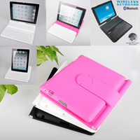 Wholesale 360 Degree Rotation Wireless Bluetooth keyboard For iPad with Hardshell Case