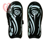 Wholesale Football shin pads double thick Greaves care Calf Ultralight brace skateboard skating sports equipment