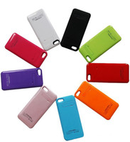 New 2200mAh Li- polymer Battery Case For iPhone5S 5g with 4 L...