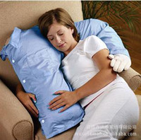Wholesale New Style Candy Color Boyfriend Pillow Arm Pillow Solid color Foam particles Pillow K0021