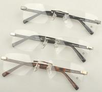 optical frame - 2013 brand Glasses frame Men s noble brand Optical frame MB0449 Rimless metal myopia glasses frame for men