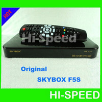 Wholesale 20pcs DHL FEDEX Newest skybox model original SKYBOX F5S HD Satelllite tv receiver