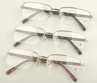 Wholesale Men s noble brand myopia Glasses frame MB designer brand Glasses frame MB0450 metal Half Rim Optical frame with original packing