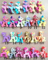 Wholesale baby toy girl s gift doll HasBro horse mini stick Pony treasure my little pony toys for children babies freeshipping