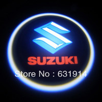 Wholesale 7W LED DOOR LOGO SHADOW LIGHT FOR Suzuki Car led door logo