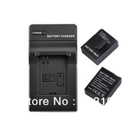 Wholesale 2 X Li Ion Rechargeable go pro hero battery pack AHDBT AHDBT Charger DC137 for GOPRO Hero3 M M P P Camera