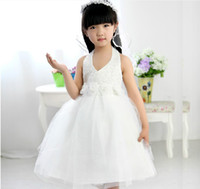 Beads Reference Images Girl Kids Girls Pageant Bridesmaid Dance Party Princess Ball Gowns Formal Dress Pretty Cute Dresses for Little Girl Kid