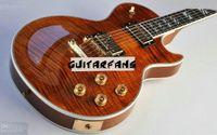 Wholesale New Arrival Custom Shop Electric Guitar brown Ebony Fingerboard guitars