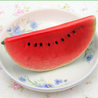 Wholesale Lifelike Artificial Fruit Fake Watermelon Artificial Plants Supplies FZ24