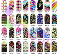 Wholesale 5set free ship nail wraps noctilucent nail patch metal nail stickers strips nail art nail polish Stickers set colors choosing
