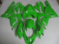Wholesale Motorcycle Fairing kit for KAWASAKI Ninja ZX10R ZX R ZX R green Fairings set gifts KM90