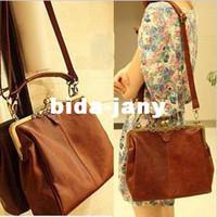 Wholesale NEW Design Europe Retro Vintage Ladies Shoulder Purse Handbag Totes Women Bag