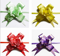 Wholesale Christmas Gift Packing Pull Bow Ribbons Wedding Decorative Birthday valentine s Room Ornament amp Decoration Gift amp Present Holiday Ribbon