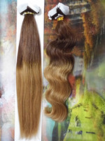 Wholesale OMBRE HAIR T12 PU Skin Weft Tape in Hair Extensions inch g