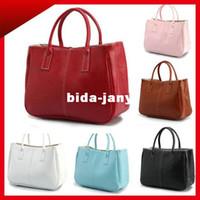 Wholesale New Fashion OL Women Faux Leather Bags Handbags Totes Messenger Clutch Satchel Purse BB197