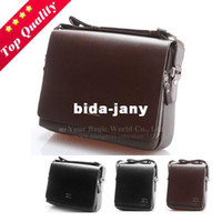 Wholesale Top Quality Men Leather Shoulder Messenger Bag Women Cross Body Briefcase Kangaroo Handbag for man