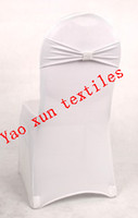 Banquet 100% Polyester Many color White New Fasional Lycra Chair Band\Spandex Chair Band For Spandex Chair Cover\Wedding Chair Cover Free Shipping