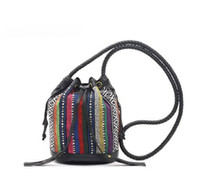 Wholesale HB968 Vintage muti color BOHEMIAN Hippie Dippie Bag Cross Body DROP SHIPPING