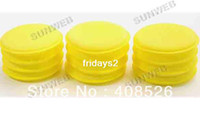 Wholesale 12 Polish Wax Foam Sponges Pads for Clean Car Vehicle Yellow