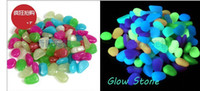 Wholesale Hot Sale Glow in The Dark Photoluminescent Resin Stone Fish Tank garden Decoration