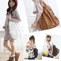 Wholesale 2013 Fashion Women Bag Lady Ways PU Leather School Bag Backpack Purse Handbag Shoulders Bag Hot Products